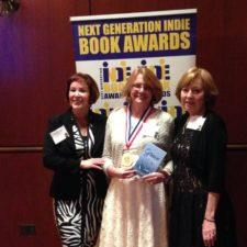 Nancy Kay Grace receives her Next Generation Indie Book Award